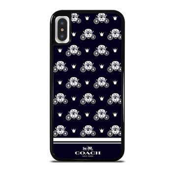 COACH NEW YORK CART iPhone X Case Cover