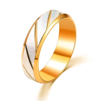 New Arrival Gift Shiny Jewelry Men Stainless Steel Simple Design Stylish Ring [6526796419]
