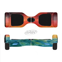 The Abstract Sunset Painting Full-Body Skin Set for the Smart Drifting SuperCharged iiRov HoverBoard