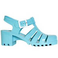 Jelly Sandal - Turquoise