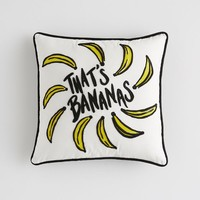 Prep Whimsy That's Bananas Pillow