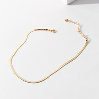 Snake Chain Choker Necklace | Urban Outfitters