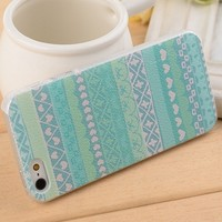 Transparent Case for iPhone 4/4s Love Pattern