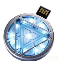 MARVEL IRON MAN 3 ARC REACTOR (8GB) USB LED LIGHT FLASH DRIVE NEW!!! 2013