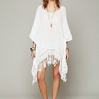Jen's Pirate Booty  Fringe Atlantis Poncho at Free People Clothing Boutique