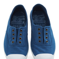 ModCloth Tread Over Heels Flat in Cobalt