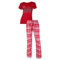 University of Alabama Crimson Tide Tiebreaker Pant & Top PJ Set