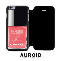 Chanel Nail Polish Tutti Frutti iPhone 6S Flip Case Auroid