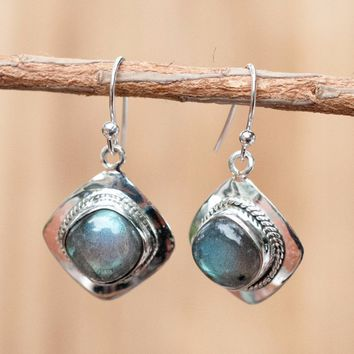 Labradorite Earrings (BJE093)