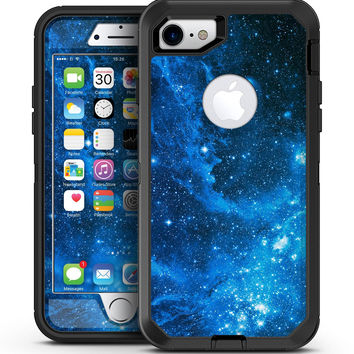 Blue Hue Nebula - iPhone 7 or 7 Plus OtterBox Defender Case Skin Decal Kit