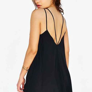 Staring At Stars Strappy-Back Swing Dress