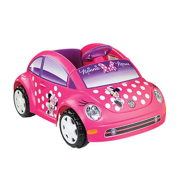 Power Wheels Fisher-Price 6-Volt Volkswagen Ride On - Minnie Mouse