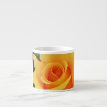 Yellow Rose Espresso Cup