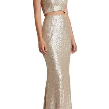 Dress the Population Cara Two-Piece Gown | Nordstrom