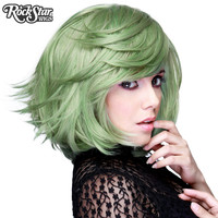 "RockStar Wigs®  Hologram 12"" - Dark Mint Mix -00658"