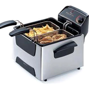 Presto 05466 Steel Deep Fryer Dual Basket Profry
