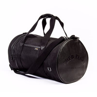 Fred Perry L7308 Nylon Barrel Bag Black