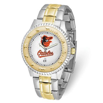 MLB Mens Baltimore Orioles Bird Competitor Watch