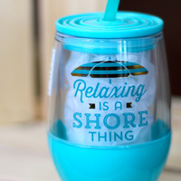A Shore Thing Tumbler {10 oz}
