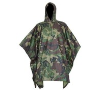 Tactical Airsoft Sniper Hunting Realtree Adult No Transparent PVC Rain Poncho Cycling Camping Hiking Plastic Raincoat Tent Mat