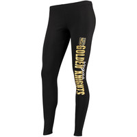 Women's Vegas Golden Knights Concepts Sport Black Solid Leggings