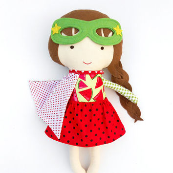 SUPERHERO DOLL, fabric doll, cloth dolls, dolls, soft doll, fabric dolls, doll, dress up doll, toys, custom doll, handmade doll, art doll