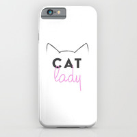 Cat Lady iPhone & iPod Case by A_CreativeHaven
