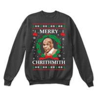 Merry Chrithmith! Mike Tyson Boxing Ugly Christmas Sweater