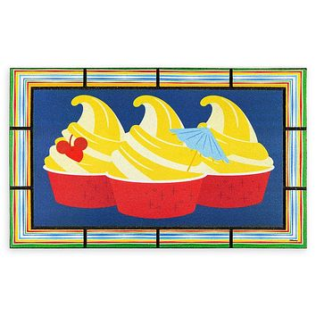 Disney Parks Food Icons Pineapple Swirl Doormat New with Tag