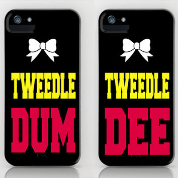 Tweedle Dee & Tweedle Dum ONLY $35 Stretched Canvas by KrashDesignCo.