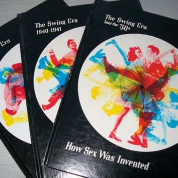 0657 Vintage 1970s Time Life Books / Jazz Swing Dance / The Big Band Swing Books / Historical Books