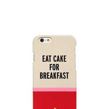 Kate Spade Eat Cake For Breakfast Iphone 6 Case Multi ONE