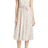 kate spade new york mini bloom burnout midi dress | Nordstrom