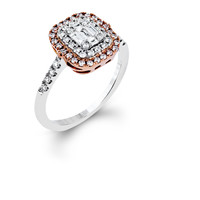 Rouge Look of Love Diamond Engagement Ring Steven Singer Jewelers