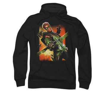 Green Arrow New 52 Issue #1 Cover Mens Pullover Hoodie