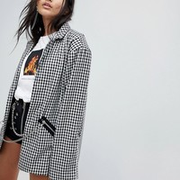 The Ragged Priest Blazer In Check at asos.com