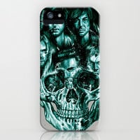 skull iPhone & iPod Case by beart24