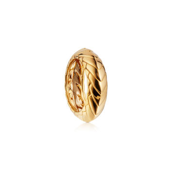 Pangolin Armour Ring in 18 ct Yellow Gold - Patrick Mavros