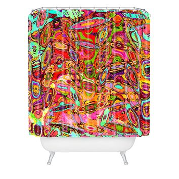 Ingrid Padilla Observed Shower Curtain