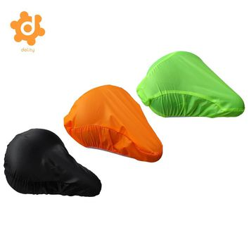 Waterproof Bike Seat Cover - Bicycle Saddle Protective Rain Cover Dust Resistant Shield Accessories - 3 Colors