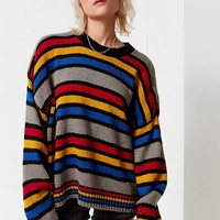 The Ragged Priest Candy Striped Sweater | Urban Outfitters