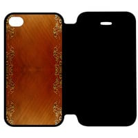 Wooden Surface iPhone 4 | 4S Flip Case Cover