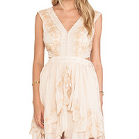 Free People Honeysuckle Rose Dress in Pink