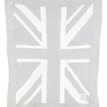 29'' x 35'' Silver Union Jack Dolce Blanket