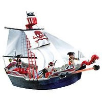 Playmobil Pirates Set #5950 Skull Bones Pirate Ship