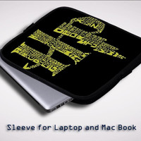 Harry Potter A Z iPad 2 3 4 Sleeve for Laptop, Macbook Pro, Macbook Air (Twin Sides)