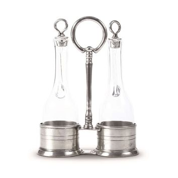 Classic Pewter Oil & Vinegar Set