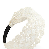 FOREVER 21 Crochet Lace Headband
