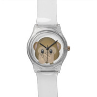 Speak No Evil Emoji Wrist Watch