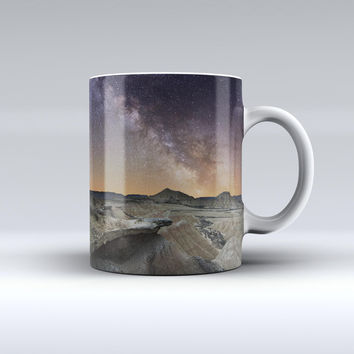 The Desert Nights ink-Fuzed Ceramic Coffee Mug